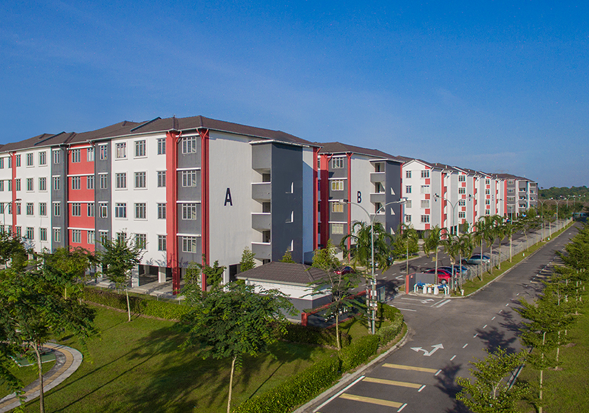 Medium Low Cost Apartment @ Bandar Tiram